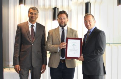 GWC receives certification for Integrated Management System