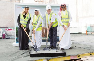 GCC starts structural work at Qatar tower project