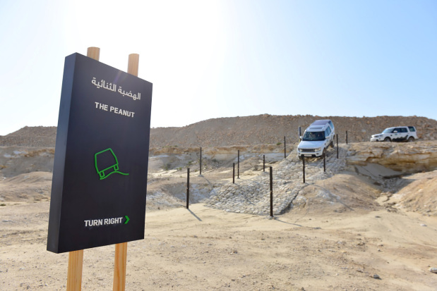 Obstacle course adds thrills to Land Rover Experience