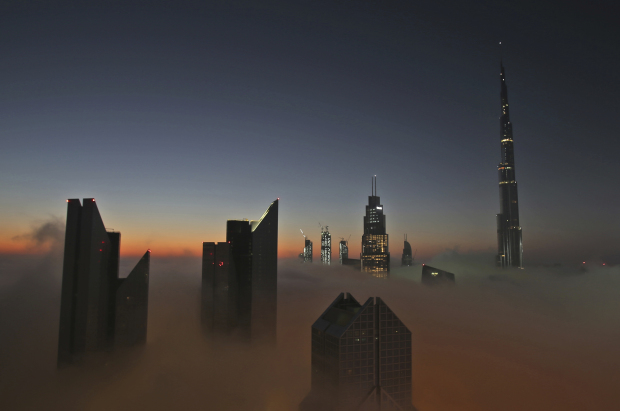 PHOTOS: Thick fog shrouds Dubai ahead of New Year's Eve fireworks