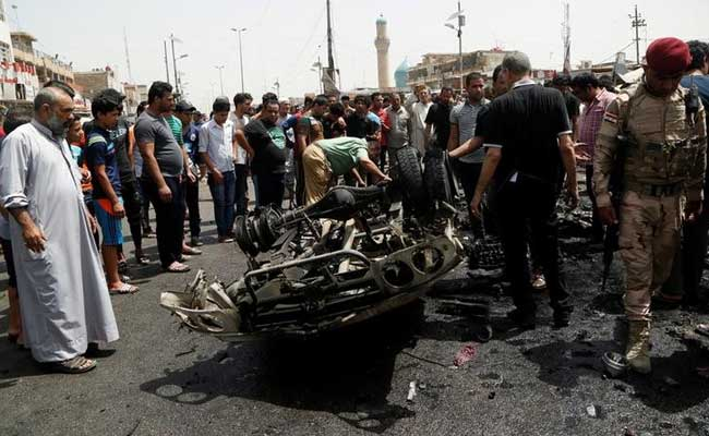 Blast in Baghdad's Sadr City leaves at least 10 dead, 35 wounded