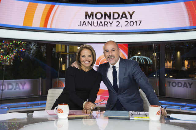 Katie Couric returns to 'Today' show as guest co-anchor