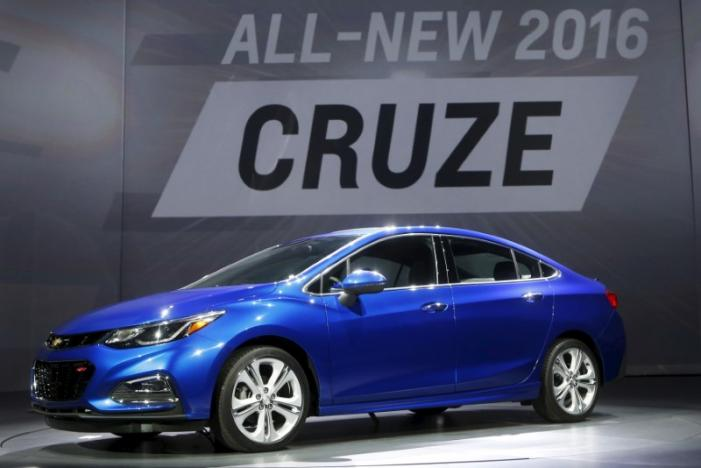 Trump threatens 'big border tax' on GM over Chevy Cruze production