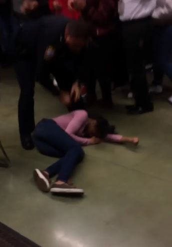 Video: Police officer slams girl to floor at North Carolina high school