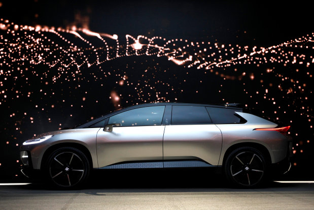 Photos: Faraday Future unveils electric vehicle in Las Vegas to kick off CES