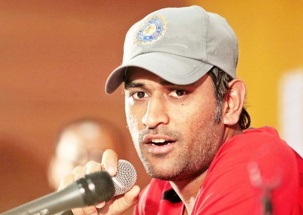 Dhoni steps down as India's limited-overs captain