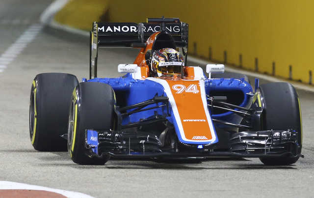 Formula 1's debt-ridden Manor Racing go into administration