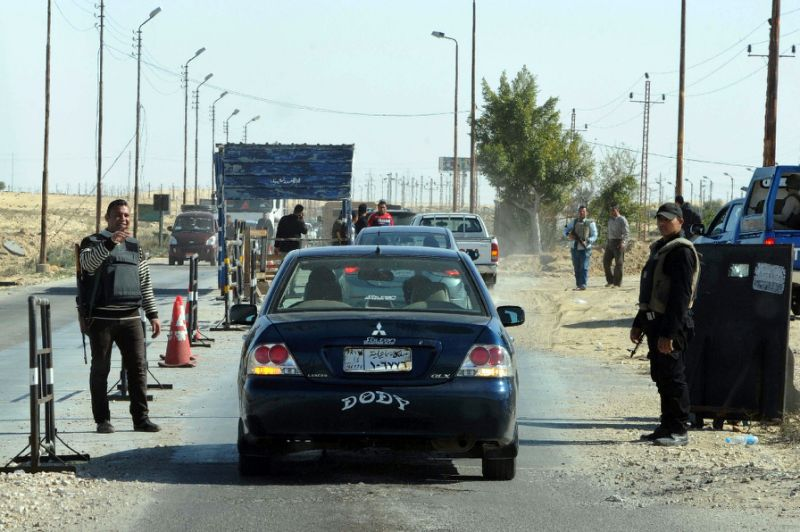 Suicide truck hits Egypt security post in Sinai, killing 10