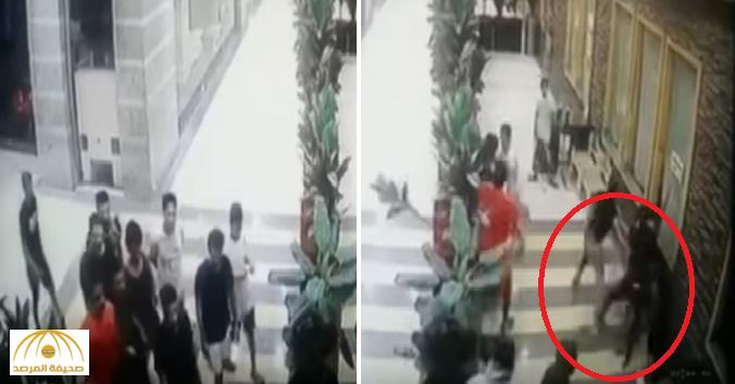 Violent brawl breaks out in Saudi mall
