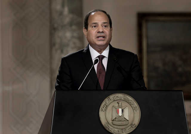 After Sinai attack, Egypt leader says tough battle ahead