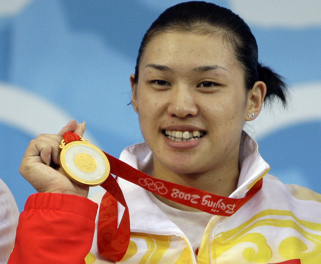 Three Chinese weightlifters lose 2008 Olympic titles for doping