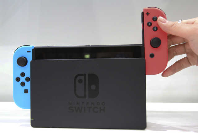 Nintendo Switch to launch March, to cost $299.99 in U.S.