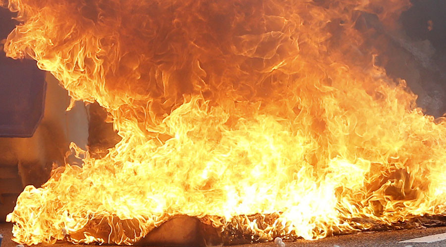 Girl sets own home on fire after being grounded by parents