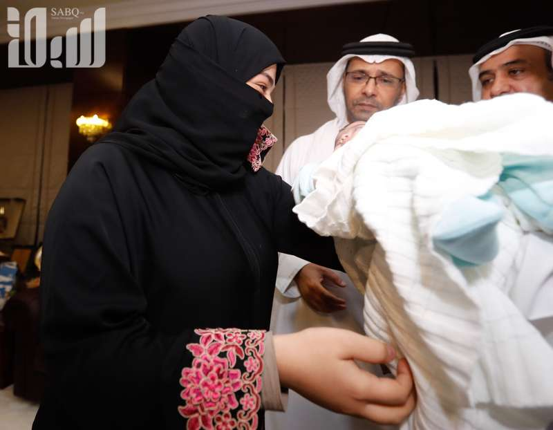 Photos: Saudi baby girl tortured by father reunited with mother