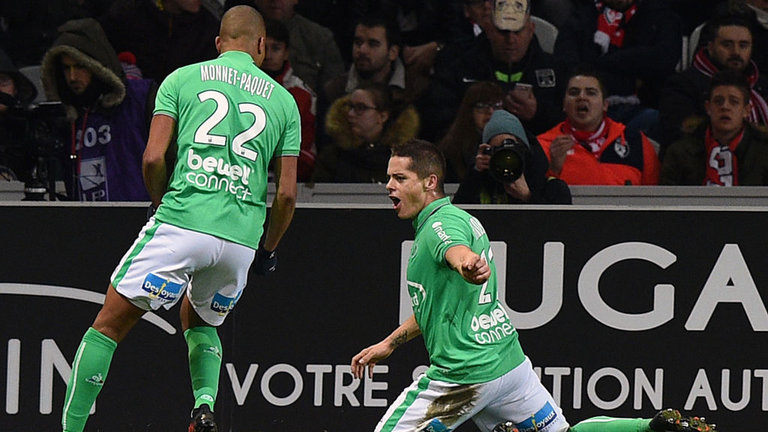 Ligue 1: De Preville's goal earns Lille 1-1 draw against Saint-Etienne