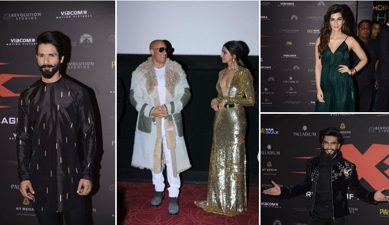 In Pictures: Stars add glam quotient to 'xXx: The Return Of Xander Cage' Mumbai premiere