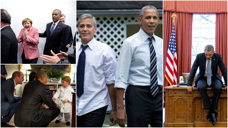 In Photos: 2016, last year of Obama's Presidency