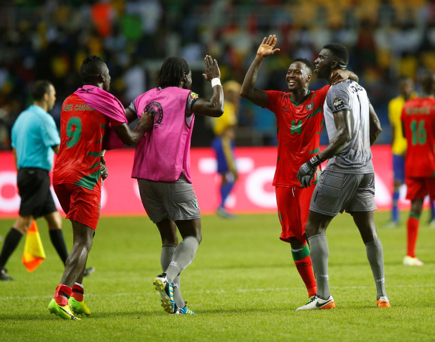 CAN: Cameroon held by Burkina Faso