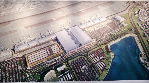 Futuristic Airport: Expansion plan to include cineplex & theme park