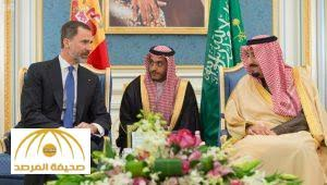 Saudi King holds talks with Spanish monarch