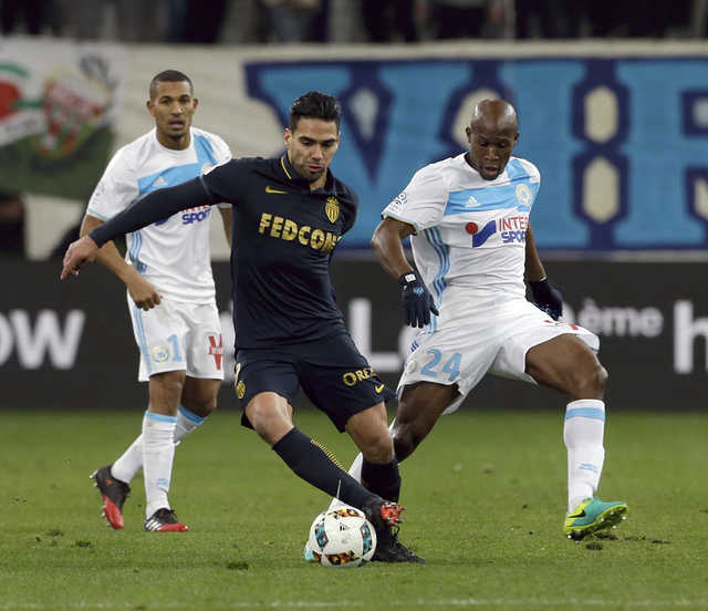 Ligue 1: Rampant Monaco goes top of league with 4-1 win at Marseille