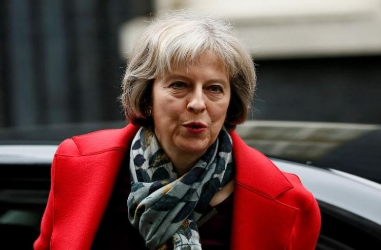UK PM May to appear in April edition of Vogue
