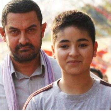 You are a role model for me: Aamir to 'Dangal' co-star Zaira Wasim