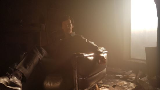 Behind-the-scenes photos from Sherlock's 'The Final Problem'