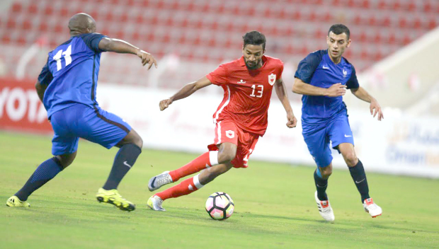 Bahrain edge past France in opener