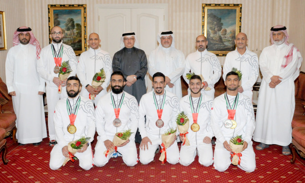 Bahrain bags 10 medals in jiu jitsu at the Abu Dhabi Grand Slam in UAE