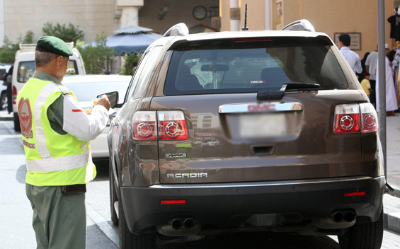 Emirati motorist pays AED100,000 in traffic fines