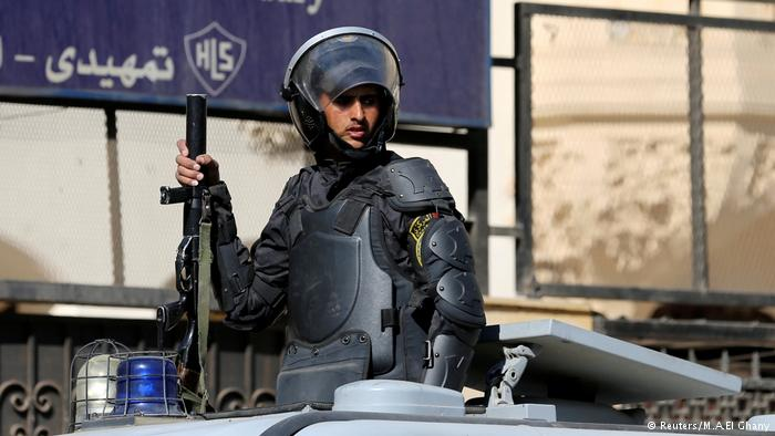 Eight policemen killed, three wounded in Egypt gun attack
