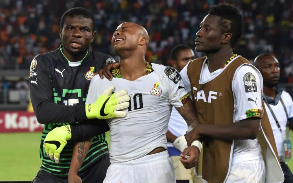 Andre Ayew gives Ghana narrow win over Uganda