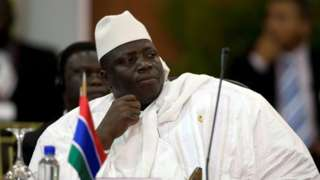 Gambia's president declares state of emergency