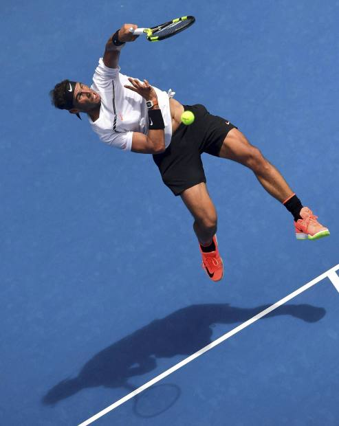 Nadal overcomes Mayer to advance at Australian Open