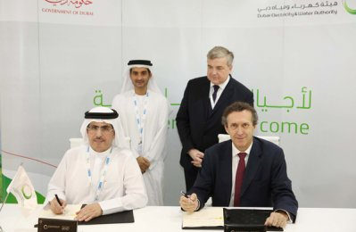 Dewa signs co-op deal with French electricity company