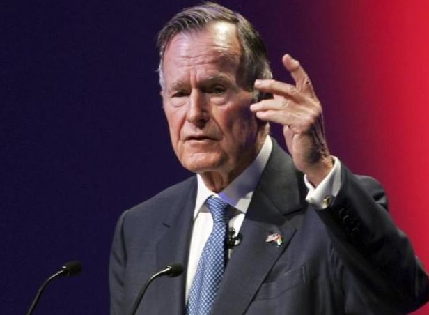 Former US President George H.W. Bush hospitalised - media