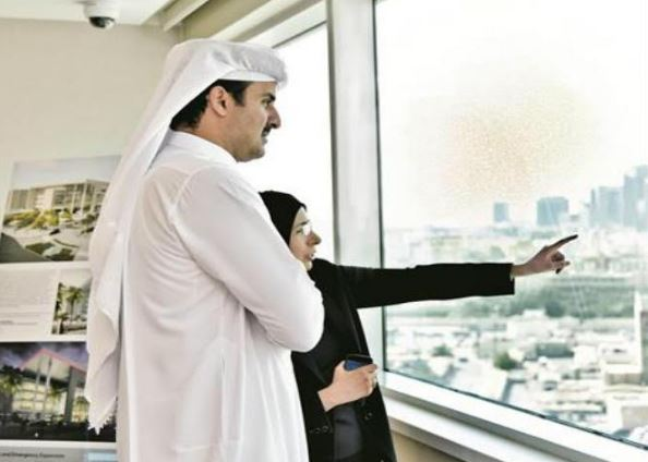 Qatar Amir visits Hamad Medical City