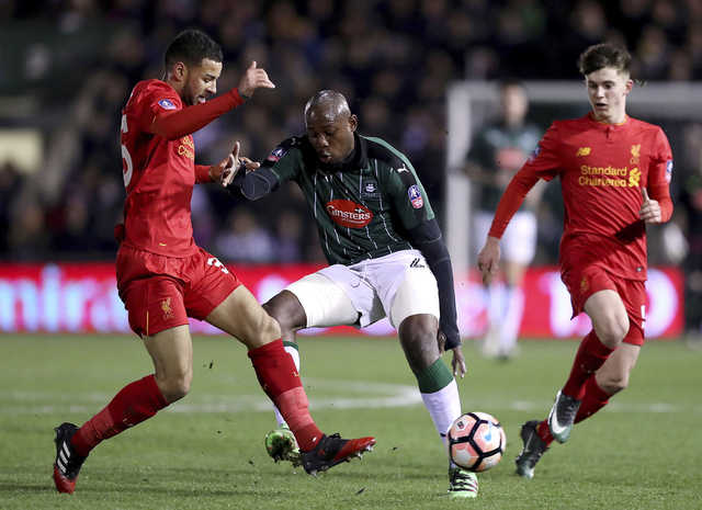 Liverpool edge past Plymouth