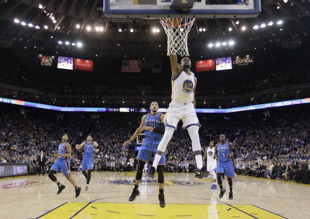 NBA: Rampant Durant helps Warriors silence Thunder