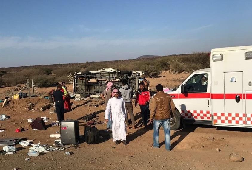 Five European pilgrims killed in Saudi Arabia