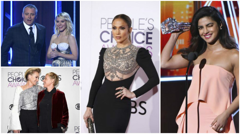 Photos: The good, the bad, and the ugly of People's Choice Awards 2017