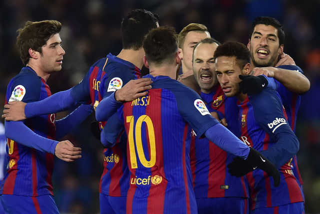 Copa del Rey: Barcelona tops Real Sociedad 1-0 in quarters