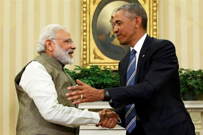 As Obama demits office, Modi takes lead in social media