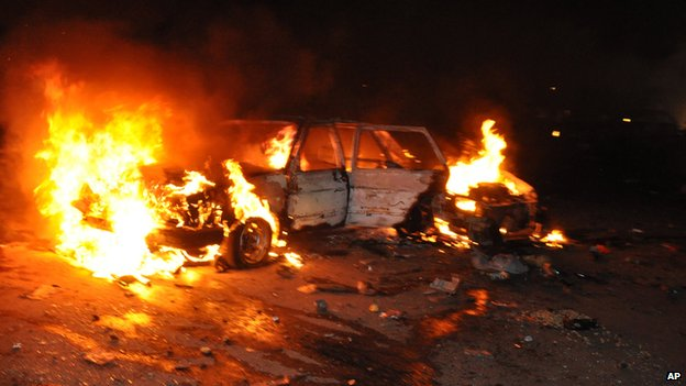Driver recounts lucky escape from car blast
