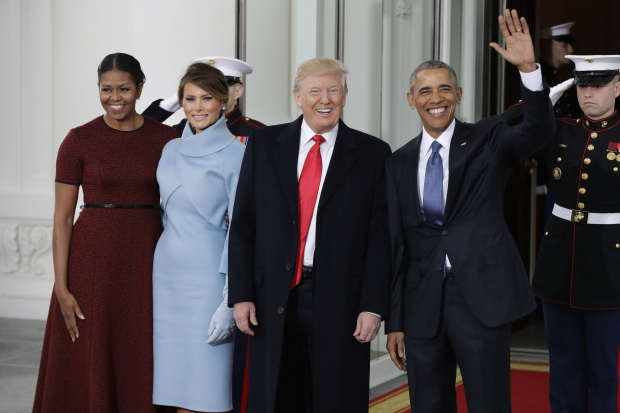 PHOTOS: 'It all begins today!' Trump readies to be sworn in as president
