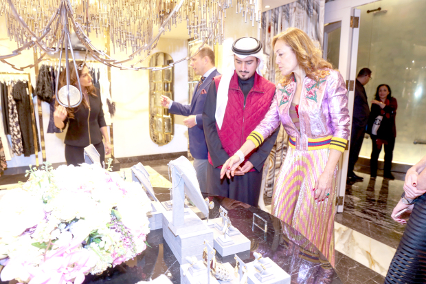 Luxury fashion retailer opens first Mideast store