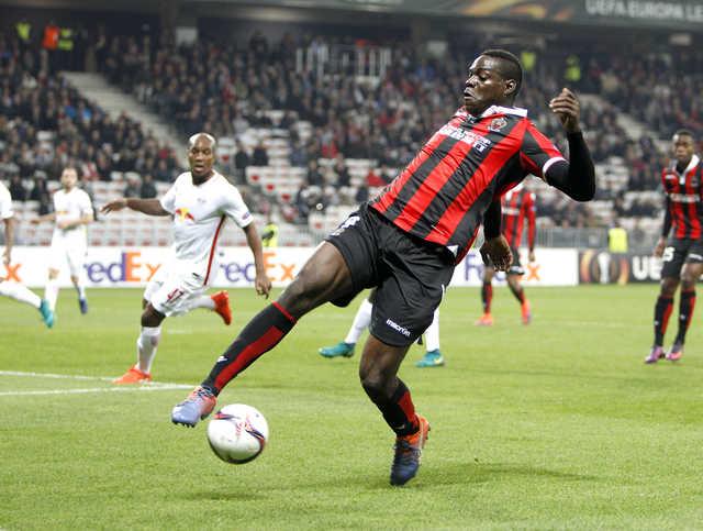 Ligue 1: Balotelli kept quiet on return as Nice held 1-1 at Bastia