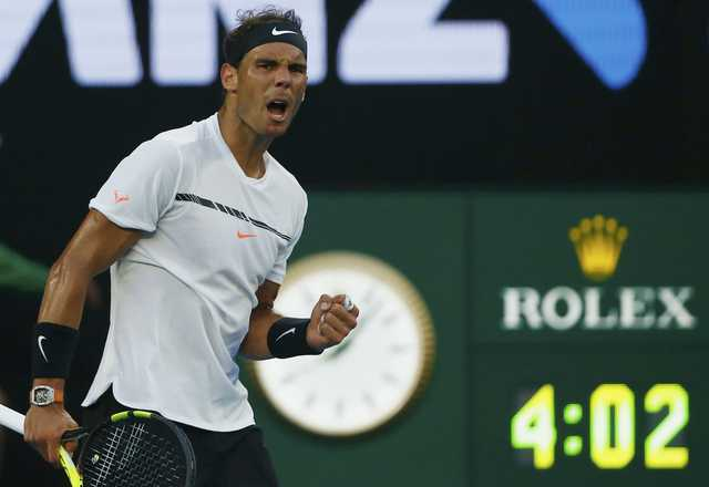 Australian Open: Nadal downs Zverev in five-set thriller