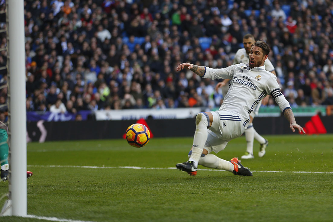Ramos saves Madrid as fans target Ronaldo